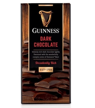 Guinness Dark Chocolate Bar