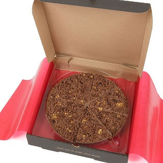 "Fab Fusion Chocolate 10"" Pizza"