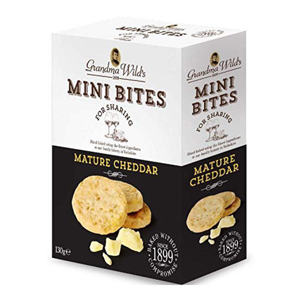 Grandma Wild's Mature Cheddar Mini Bites