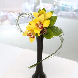 Golden Star Vase Arrangement