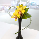 Golden Star Vase Arrangement