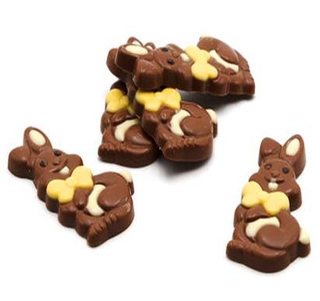 Milk Chocolate Happy Bunny (400g bag)