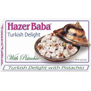 Hazer Baba Pistachio Turkish Delight 350g