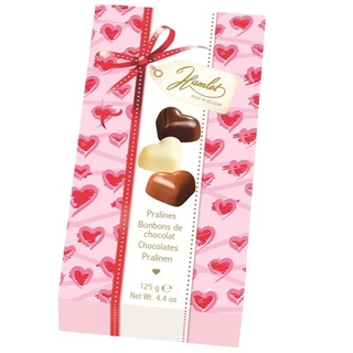 Hamlet Assorted Chocolate Love Hearts Gift Box