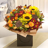 The Harvest Hand-tied Arrangement