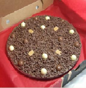 "Heavenly Honeycomb Chocolate 7"" Pizza"