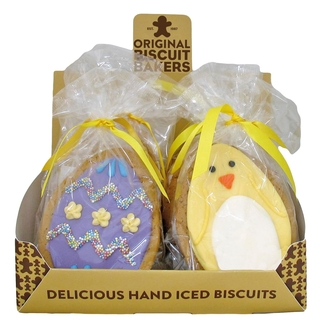 Iced Gingerbread Easter Biscuit