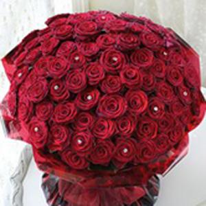 True Romantics Red Rose Arrangement