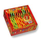 Jelly Belly Candy Canes: Very Cherry, Green Apple and Orange