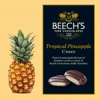 Dark Chocolate Tropical Pineapple Creams