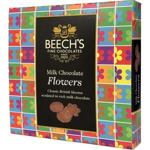Beechs Milk Chocolate Flowers