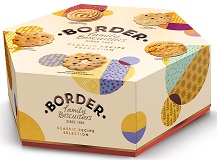Border Classic Biscuits Selection in Hexagonal Box