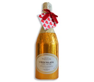 Milk Chocolate Champagne Bottle