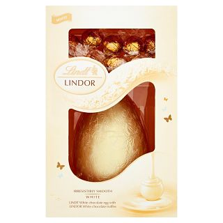 Lindt Lindor White Egg