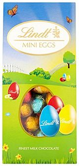 Lindt Solid Mik Chocolate Mini Eggs Cannister