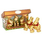 Lindt Gold Bunny & Family Hutch