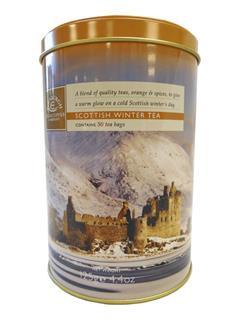 Edinburgh Tea & Coffee Company Scottish Winter Tea Caddy