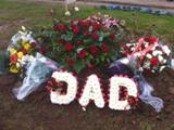 'DAD' Funeral Tribute
