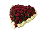 Heart Arrangement with Roses