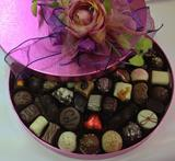 Classic Pink Belgian Chocolate  Gift Box