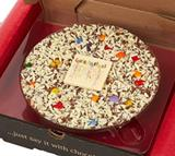 Gourmet Chocolate Pizza Company 'Congratulations' Pizza