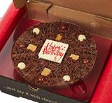 Gourmet Chocolate Pizza Company Birthday Pizza