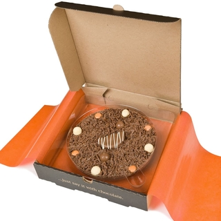 "Ultimately Orange Chocolate 7"" Pizza"