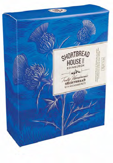 Shortbread House Box of Mini Macadamia Nut Biscuits