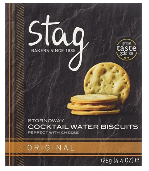 Stag Bakeries Stornoway Cocktail Original Water Biscuits