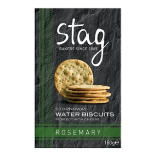 Stag Bakeries Stornoway Rosemary Water Biscuits