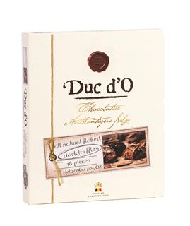 Duc d'O Dark Chocolate Flaked Truffles