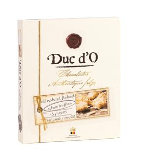 Duc d'O Flaked White Chocolate Truffles