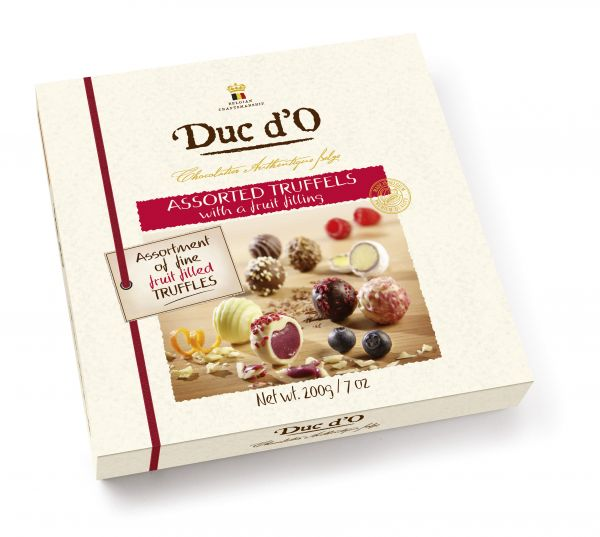 Duc d'O Chocolate Trio of Truffles