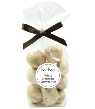 Ko-Koa White Chocolate Covered Strawberries