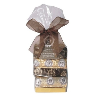 Laurence Galerie De Chocolat Hazelnut Praline Wafers in Dark Chocolate