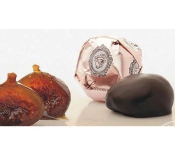 Laurence Galerie De Chocolat Whole Figs In Dark Chocolate Singles