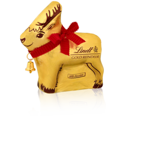 Lindt Chocolate Gold Reindeer