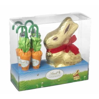 Lindt Gold Bunny and Carrots