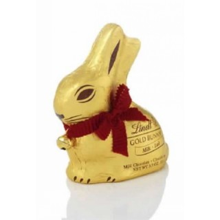 Lindt Gold 100g Milk Chocolate Bunny
