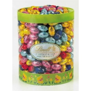 Lindt Solid Mini Eggs Drum