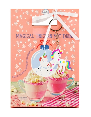 Magical Unicorn Hot Strawberry Cocoa Drink