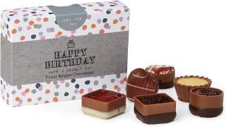 Happy Birthday Belgian Chocolates Box