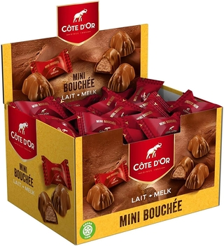 Cote d'Or Mini Milk Bouchee 1Kg Box