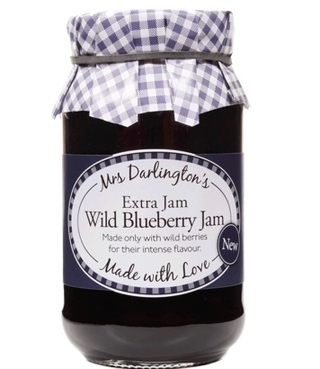 Mrs Darlington's Wild Blueberry Extra Jam