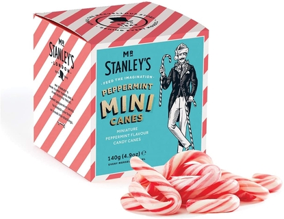 Mr Stanley's Peppermint Mini Candy Canes