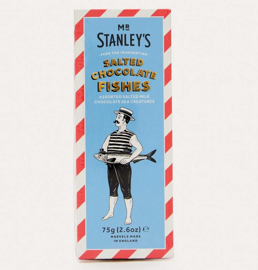 Mr Stanley's Salted Milk Chocolate Fishes