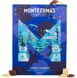 Montezuma Kids Organic Milk & White Chocolate Advent Calendar