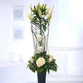 Monochrome Twist Contemporary Arrangement