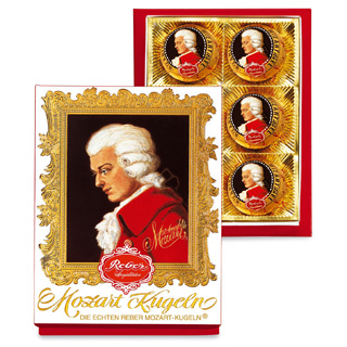 Reber Mozart Kugeln Gift Box in 3 sizes