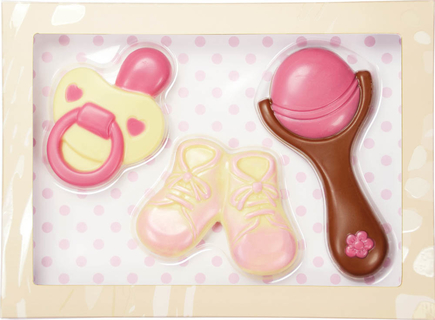 Baby Pink Chocolate Set